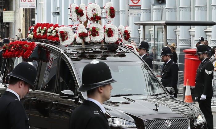 PC Keith Palmer funeral: police pay tribute to officer's heroism | UK news  | The Guardian