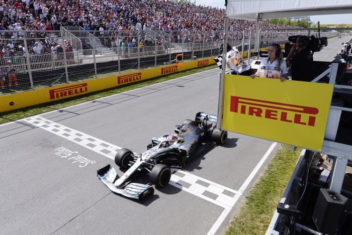 F1: Hamilton wins Canadian GP after penalty denies Vettel – as it