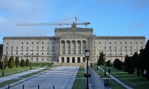 The parliament buildings at Stormont, Belfast, home to the Northern Ireland assembly.