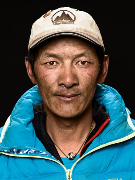 Phurpa Tashi, head sherpa