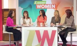 Katie Price on ITV's Loose Women