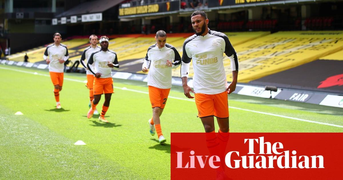 Watford v Newcastle United: Premier League - live!