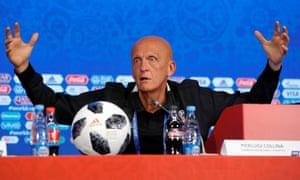 Pierluigi Collina, the chairman of Fifa's referees committee, said if a referee denies a goalscoring opportunity by incorrectly raising the flag 'everything is finished' .