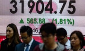 Hong Kong share index