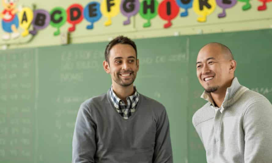 Geekie co-founders Claudio Sassaki, right, and Eduardo Bontempo have revolutionised education in Brazil