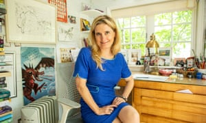 Cressida Cowell photographed at her home in west London.