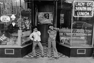 Two Girls at Lady D's, Harlem, NY from Harlem, U.S.A., c. 1976