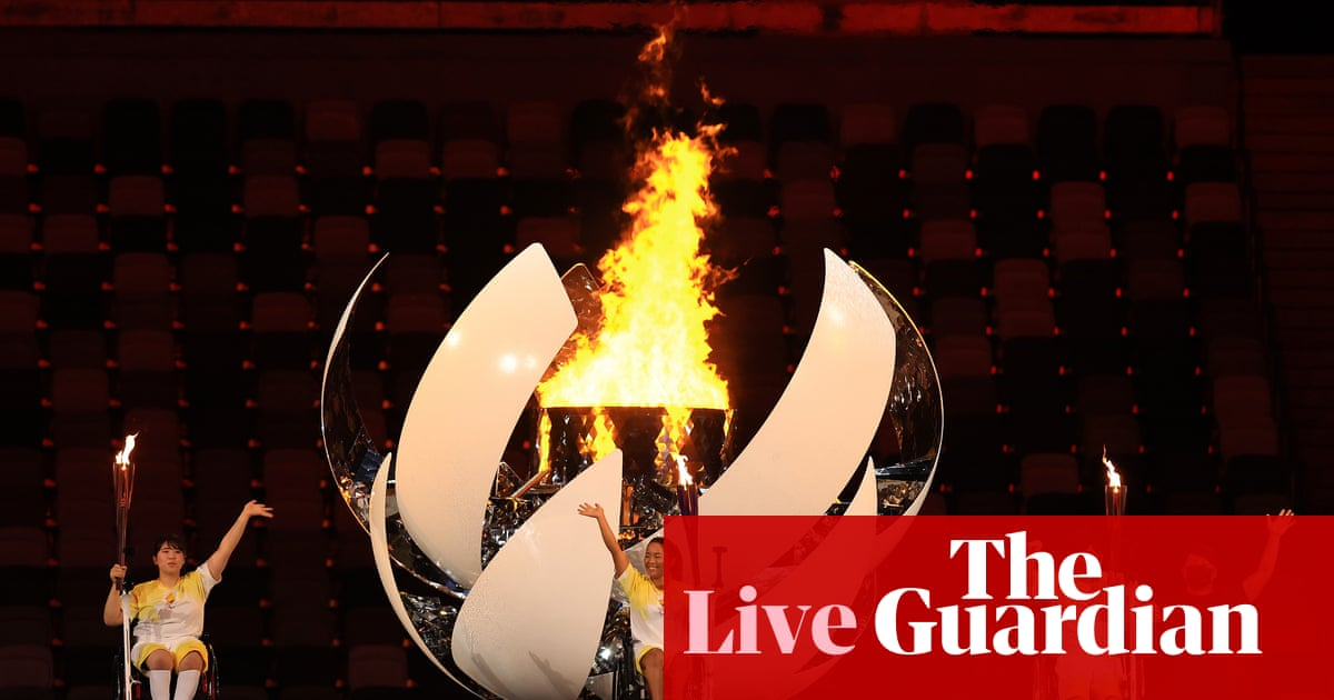 Tokyo 2020 Paralympic Games: opening ceremony – as it happened