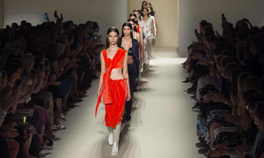 The Victoria Beckham show at New York fashion week