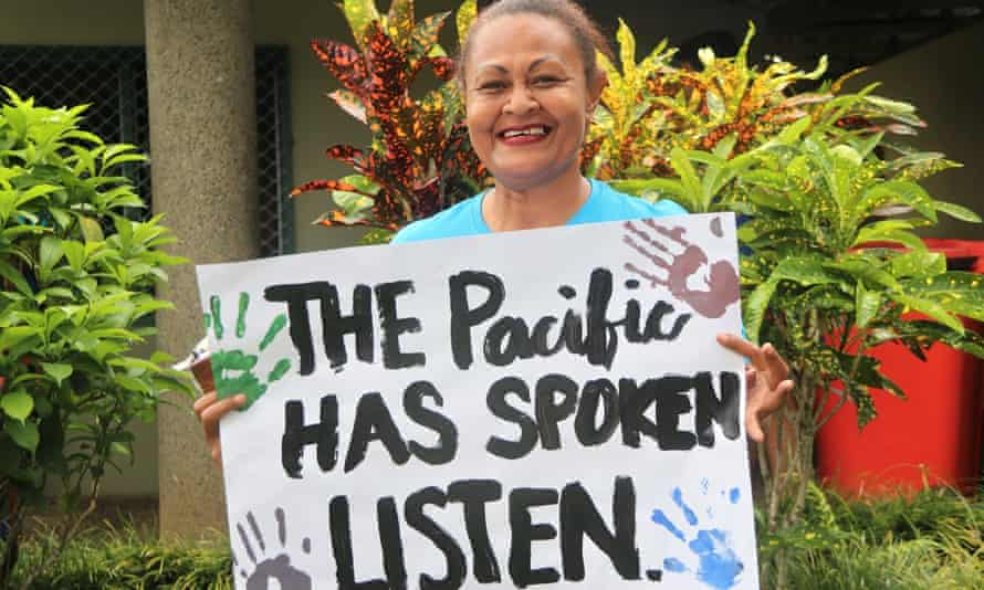 Pacific activists have been urging Japan to halt plans to dump the wastewater in the ocean until consultations and an independent review takes place.