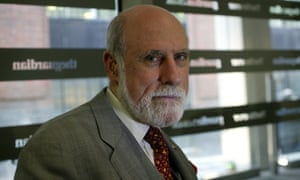 Vint Cerf, widely acclaimed as the 'father of the internet', is among more than 20 tech pioneers criticising the FCC plan.