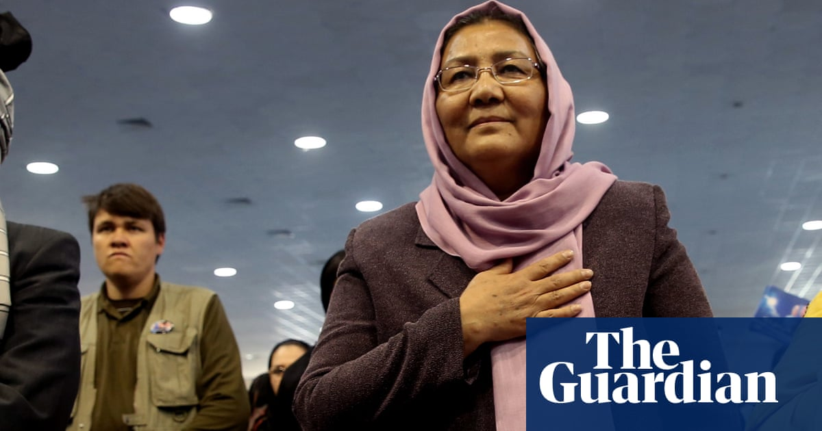 Afghan peace summit includes just one female delegate
