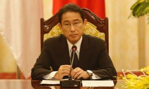 japan foreign minister fumio kishida
