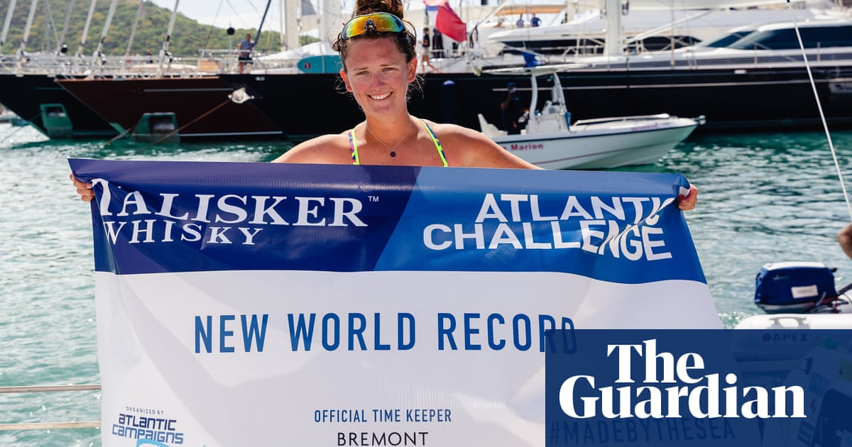 I ate 40kg of chocolate: Yorkshire teacher, 21, on rowing solo across the Atlantic