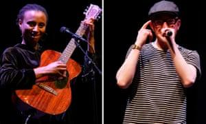 the Sierra Leone-Irish singer Loah and Mathman, of the hip-hop duo Mango and Mathman.