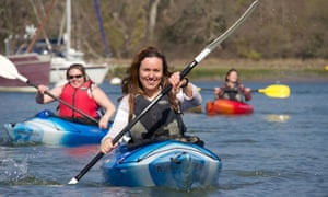 Kayaking at New Forest Activities