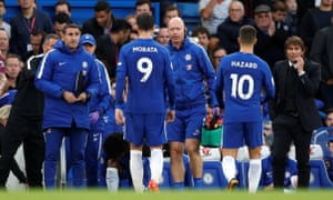 Álvaro Morata was substituted against Manchester City with a thigh injury