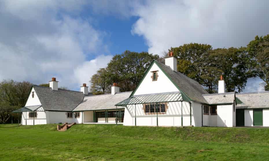 The newly renovated Winsford Cottage Hospital, Devon.