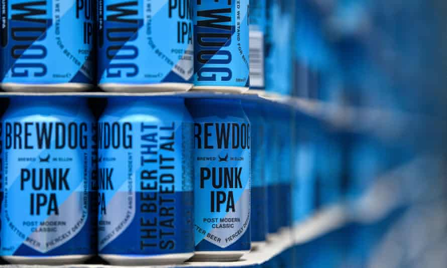 BrewDog has been a key player in the surge in popularity of craft beer in Britain.