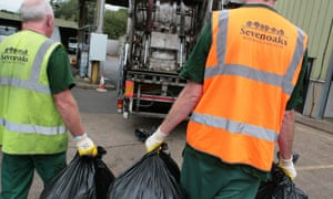 two refuse collectors
