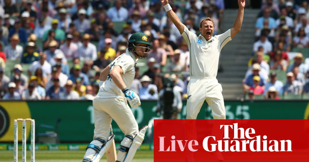Australia v New Zealand: Boxing Day Test, day two – live!