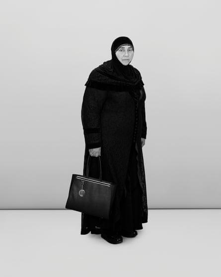 Professional mourner Haji Rahila Jafarova.