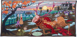Grayson Perry's The Upper Class at Bay, 2012.
