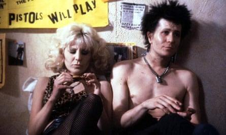 Chloe Webb and Gary Oldman in Sid and Nancy.