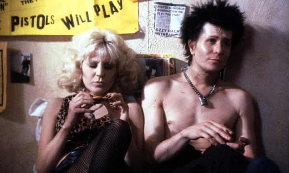 'Abrasive and bratty': Chloe Webb and Gary Oldman in Sid & Nancy.