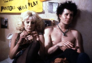 'An untamed beast of a performance': Gary Oldman with Chloe Webb in Sid and Nancy
