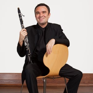 Jörg Widmann: 'I write pieces about these masterworks that are love'.