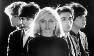 Blondie portrait session, 1976