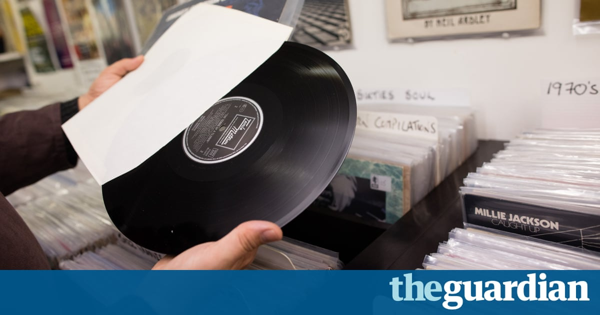 Tables Turned As Vinyl Records Outsell Digital In Uk For