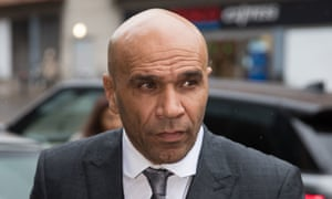 Goldie at Bristol magistrates court