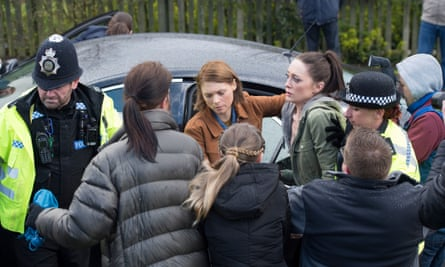 DI Helen Weeks and Linda Bates in BBC1's In the Dark