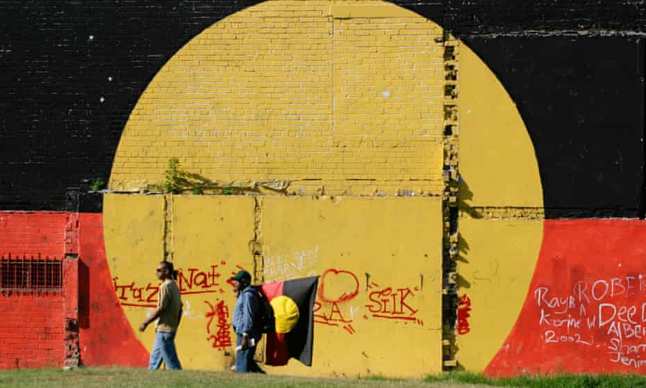 The dispersal continues … residents pass the Block in Redfern, Sydney, which is slated for redevelopment.