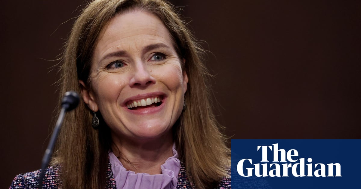 Supreme court justice Amy Coney Barrett reportedly signs $2m book deal