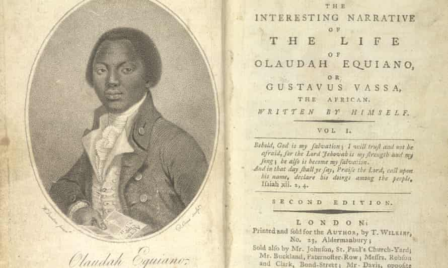 An image from The Interesting Narrative of the Life of Olaudah Equiano, or Gustavus Vassa, the African, published in London in 1789.