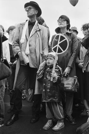 Rally in Hyde Park (1980) © Edward Barber.