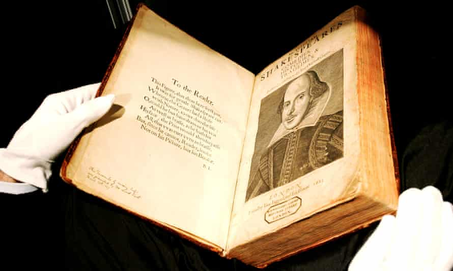 The 1623 First Folio was the first collection of Shakespeare's plays.