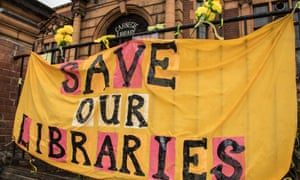 The campaign to save Carnegie Library in Lambeth, south London, from closure due to a funding shortfall.