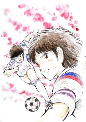 Captain Tsubasa cover by Yōichi Takahashi, 1981