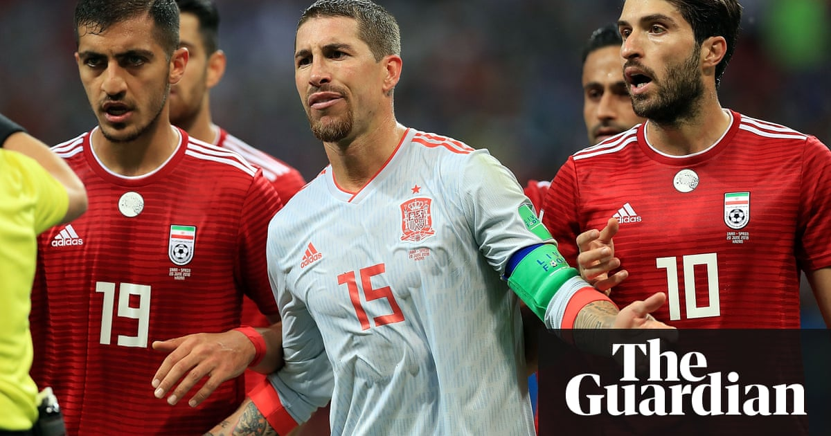 Sergio Ramos hits back at Diego Maradona, Queiroz and Iran