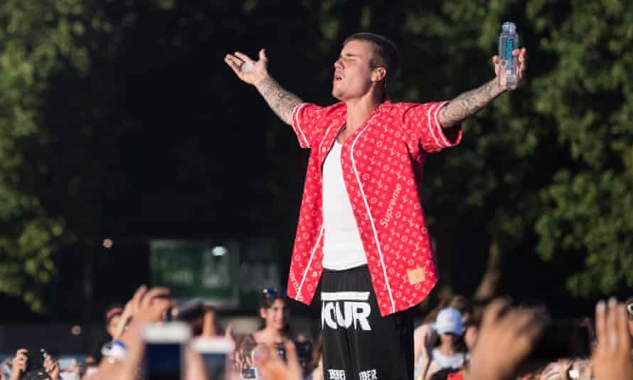 Justin Bieber, seen here at Hyde Park, London, has been banned from touring China.
