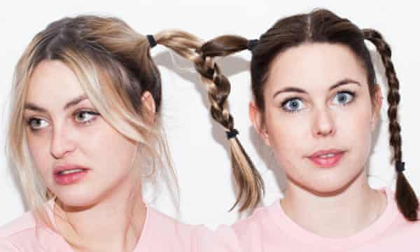 Comedy act Siblings, Maddy and Marina Bye, offer 'a little bit of escape'.