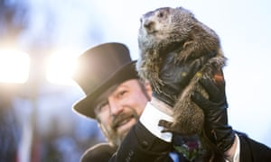 """Punxsutawney Phil"" Makes Annual Winter Prediction On Groundhog Day."
