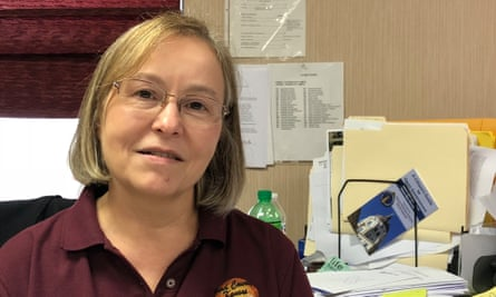 Debbie Cox, Ford County clerk at the center of racism accusations after she moved the only polling place in Dodge City, Kansas .