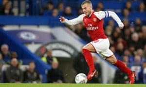 Jack Wilshere, Chelsea v Arsenal