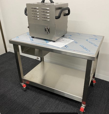 X-ray machine trial technology used to detect seeds sent in mail