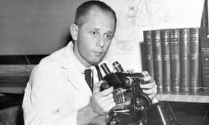 The 'father of stress': Hans Selye at work in Montreal, 1950.